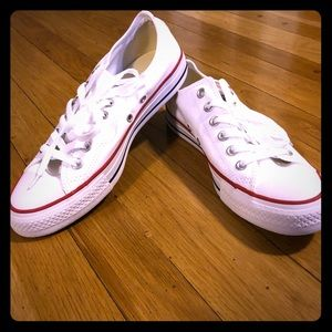 Converse all star ox optical white sneakers